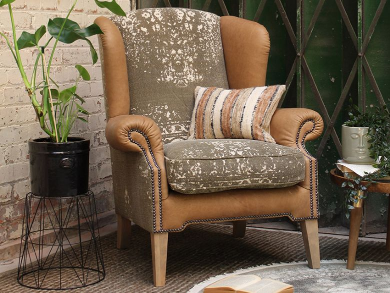 Tetrad Montana wing chair 2 man White Glove delivery service