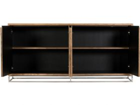 Olette metal and wood extra large sideboard