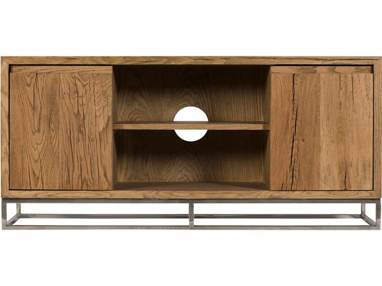 Olette rustic small TV unit available at Lee Longlands