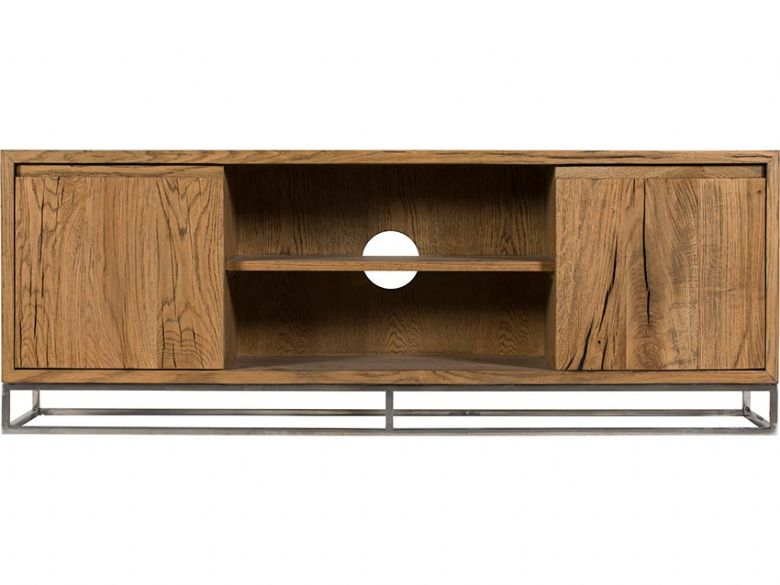 Olette rustic large TV unit available at Lee Longlands