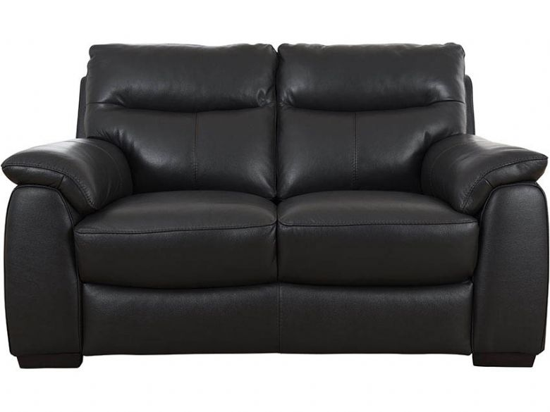 Odette black 2 seater sofa available at Lee Longlands