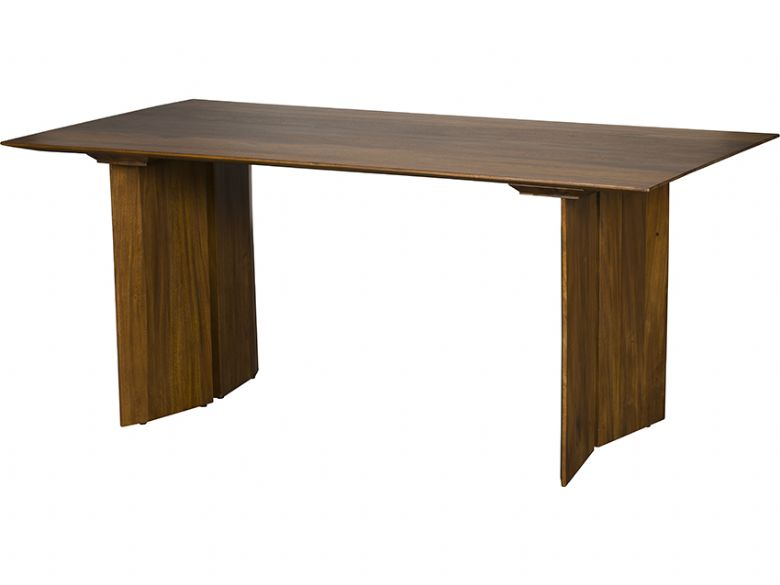 Giovanny 220cm walnut dining table available at Lee Longlands