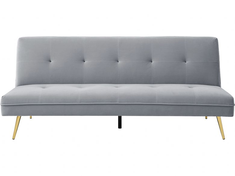 Lorenzo 3 seater grey sofa bed and Lee Longlands