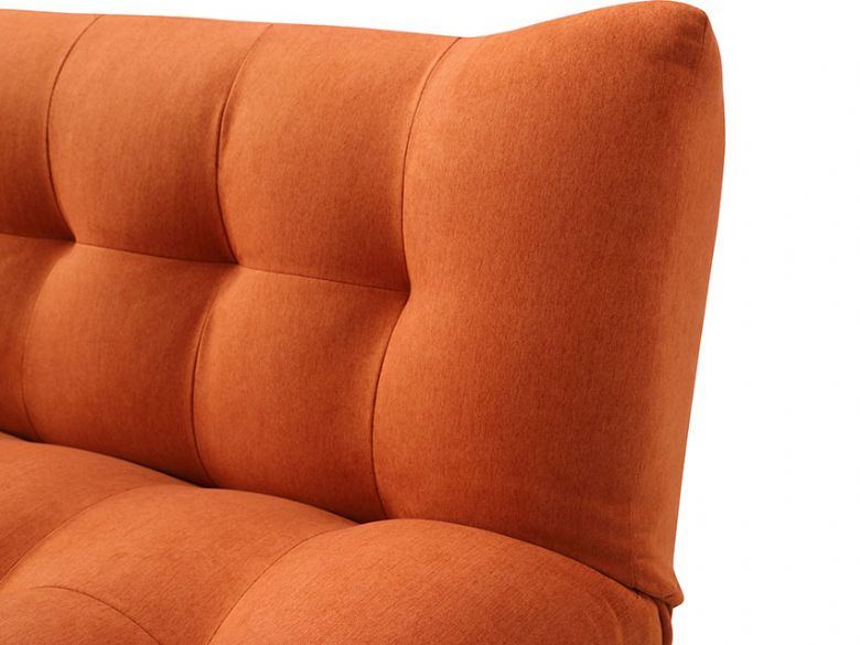 Marcello 3 Seater Orange Sofa bed - at Lee Longlands