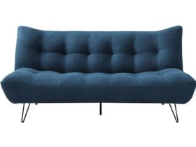 Marcello 3 Seater Blue Sofa Bed