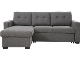 Brando Grey Corner Sofa bed (Reversible Chaise)