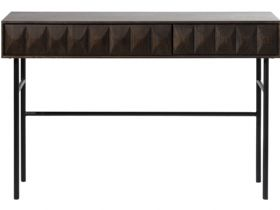 Dakota dark wood console table available at Lee Longlands
