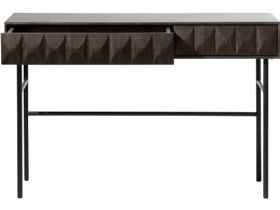 Dakota console table with textured front