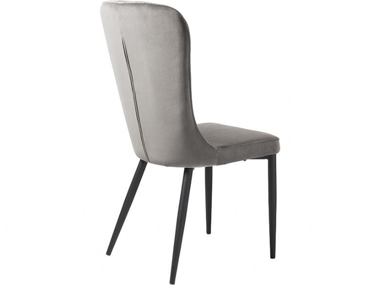 Monroe contemporary grey dining chair