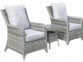 Miami Lounge Set in Grey