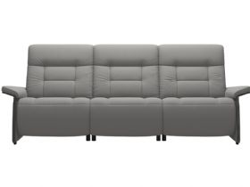 Stressless Mary grey 3 seater sofa with 2 power available at Lee Longlands