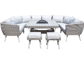 Arizona U Shaped Corner Garden Sofa Set