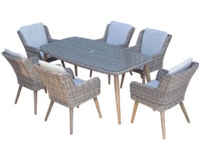 Arizona 6 Seat Garden Dining Set