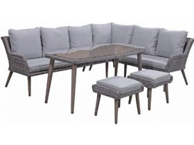 Arizona Garden Corner Sofa Dining Set