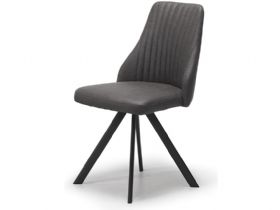 Dallas Dark Grey Dining Chair