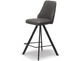Dallas Dark Grey Bar Stool