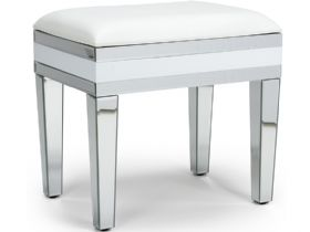 Florence Mirrored Dressing Table Stool