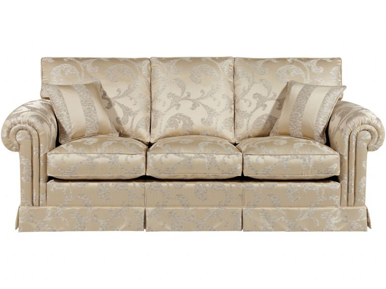 3 Seat Sofa, Valanced