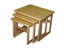 Nest Of Tables - Solid Top