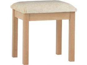 Oak Fabric Seat Sool