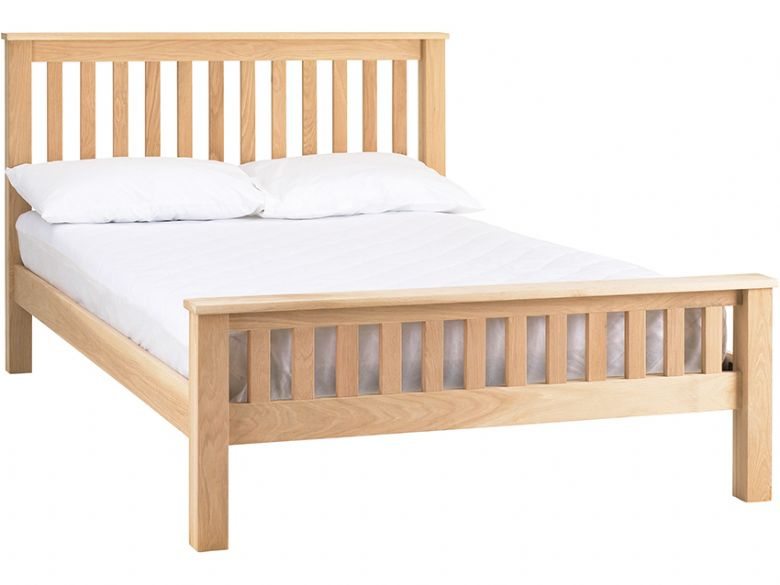 Strata Oak 5'0 King Size Bed