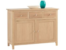 Oak Triple Drawer Sideboard