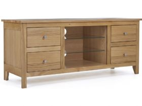 Oak Large TV Cabinet