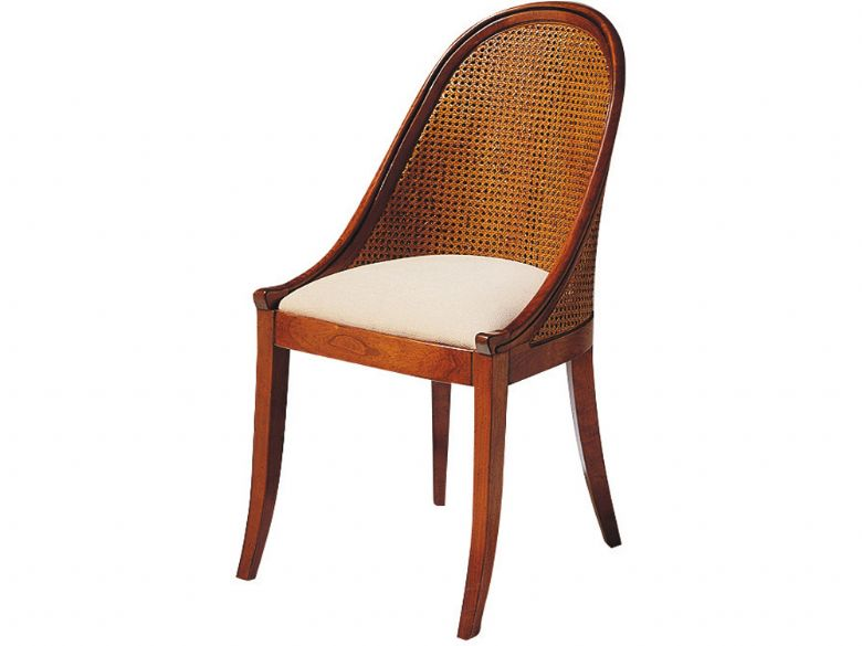 Louis Philippe Double Cane Back Chair