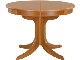 Circular Pedestal Dining Table