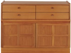 Nathan Furniture Classic Range 4 Drawer Mid Storage Unit