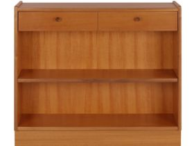 Nathan Furniture Classic Range Low Open Bookcase