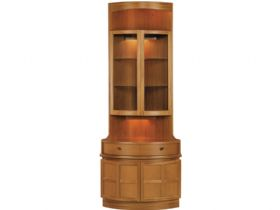 Nathan Furniture Classic Range Bow Front Corner Unit