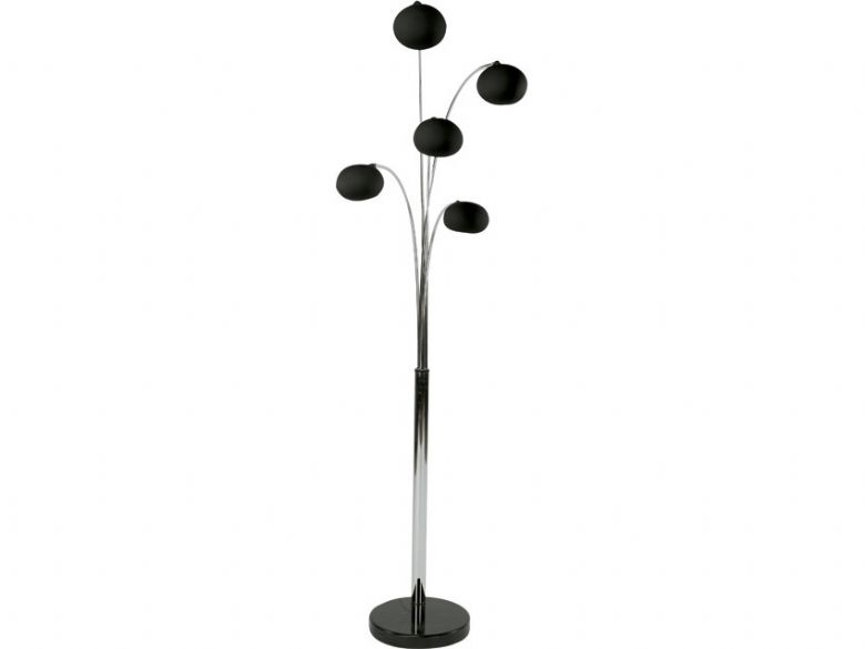 Lounge 5 Light Floor Lamp - Lee Longlands