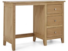 Oak Single Pedestal Dressing Table