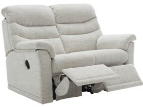 G Plan Malvern Soft Cover 2 Seater Double Recliner Sofa