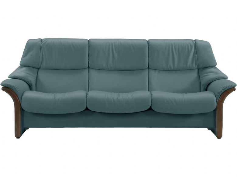 High Back 3 Seater Leather Sofa