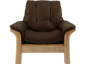 Stressless Windsor Leather Low Back Chair