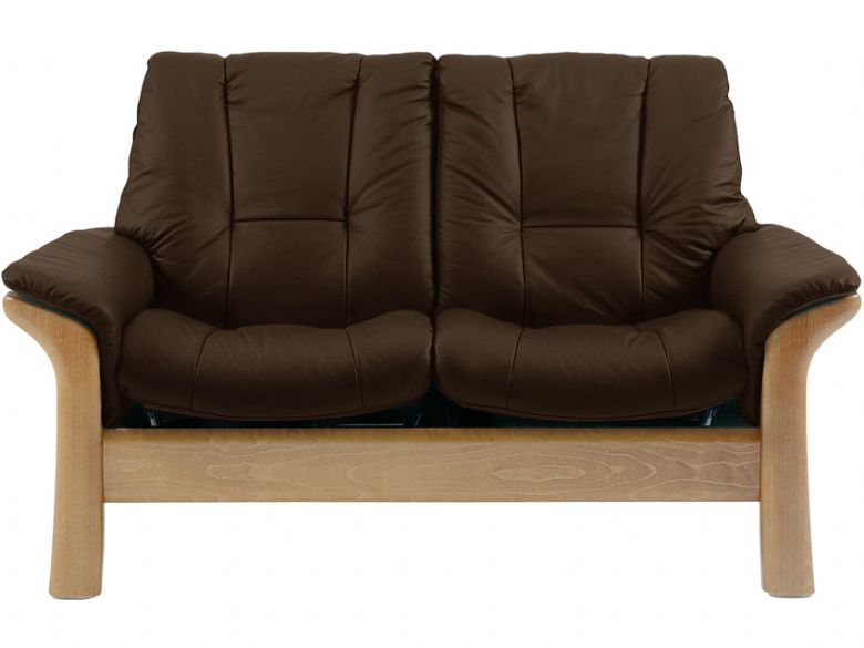 Stressless Windsor 2 Seater Low Back in Batick Brown