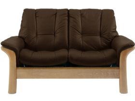 Stressless Windsor 2 Seater Low Back Leather Sofa