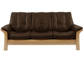 Stressless Windsor 3 Seater Low Back Leather Sofa