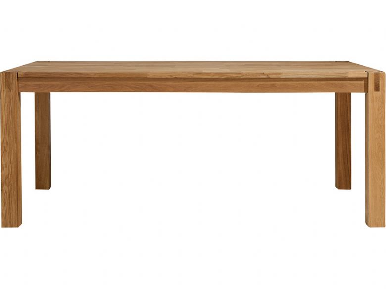 Duke 1.4m oak dining table