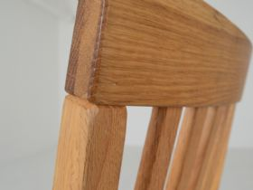 Duke dining chair detail