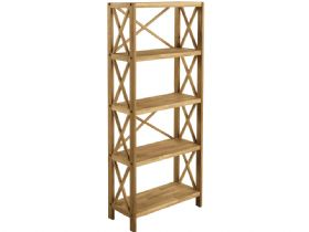 Duke Oak 5 Shelf Unit