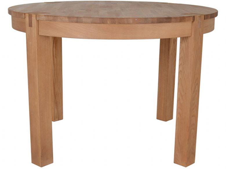 Duke Oak Round Dining Table Lee Longlands