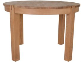 Oak Round Dining Table