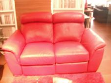 Messina 2 Seater Manual Recliner Sofa