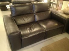 Natuzzi Sipario Loveseat with 2 Motions