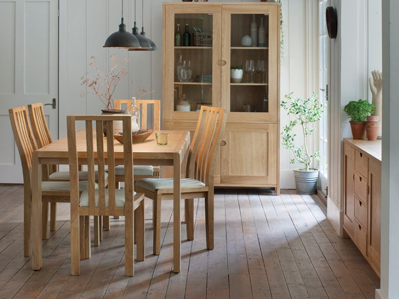 Ercol Bosco oak dining range