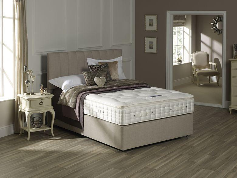 Hypnos stratus pillow top lee longlands for Bedroom divan