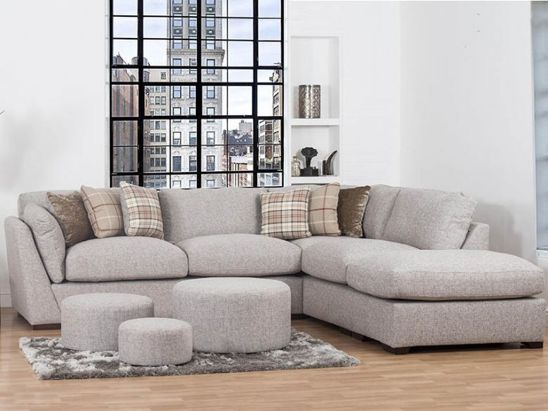 Rheta casual fabric sofa collection